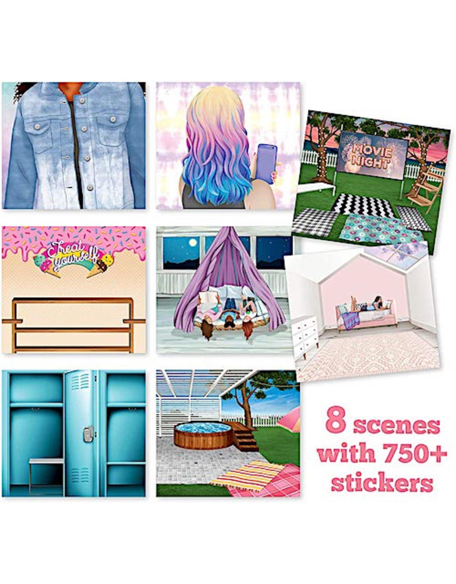 Ann Williams Craft-Tastic Sticker It Up! Good Vibes