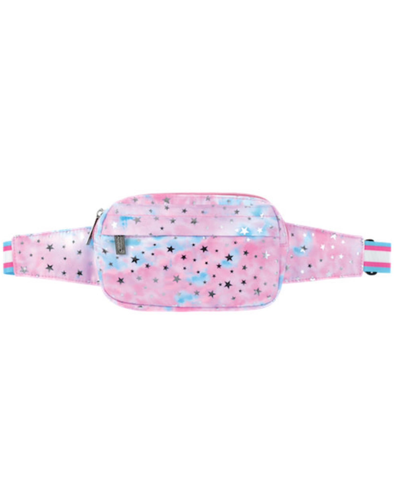 Iscream Silver Star Foil Belt Bag