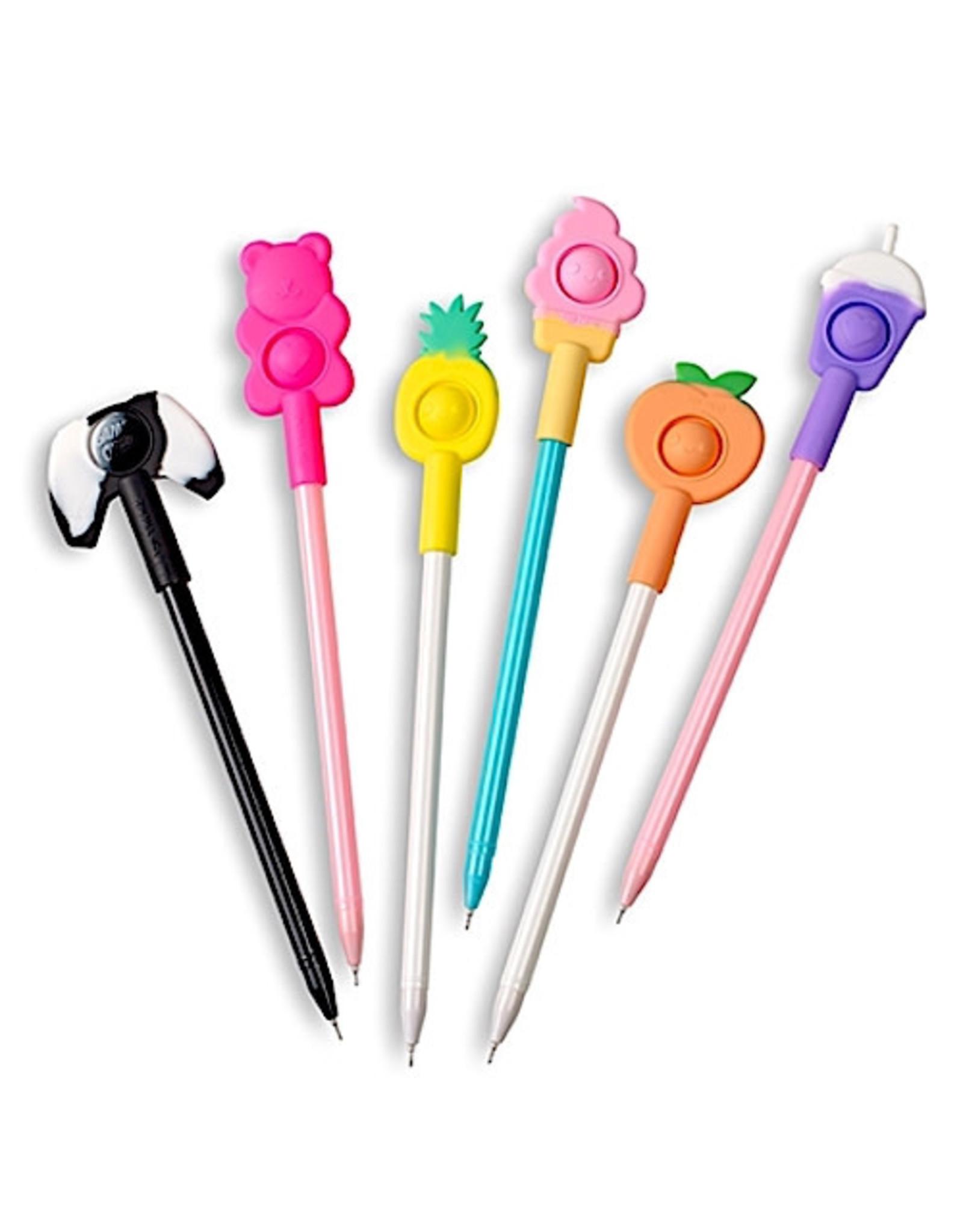 Pen Toppers Pop Fidget