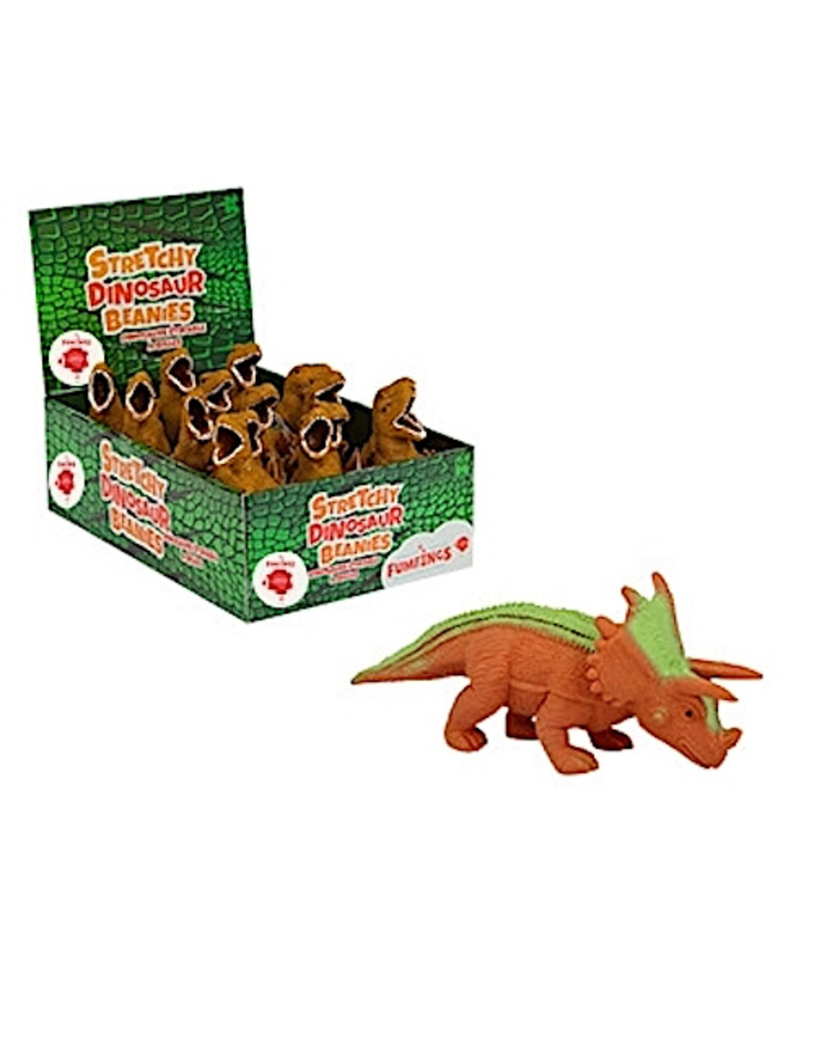 Keycraft Stretchy Beanie Triceratops