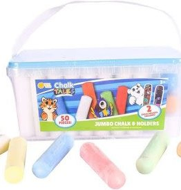 Maxx Bubbles Chalk Bucket 50pc