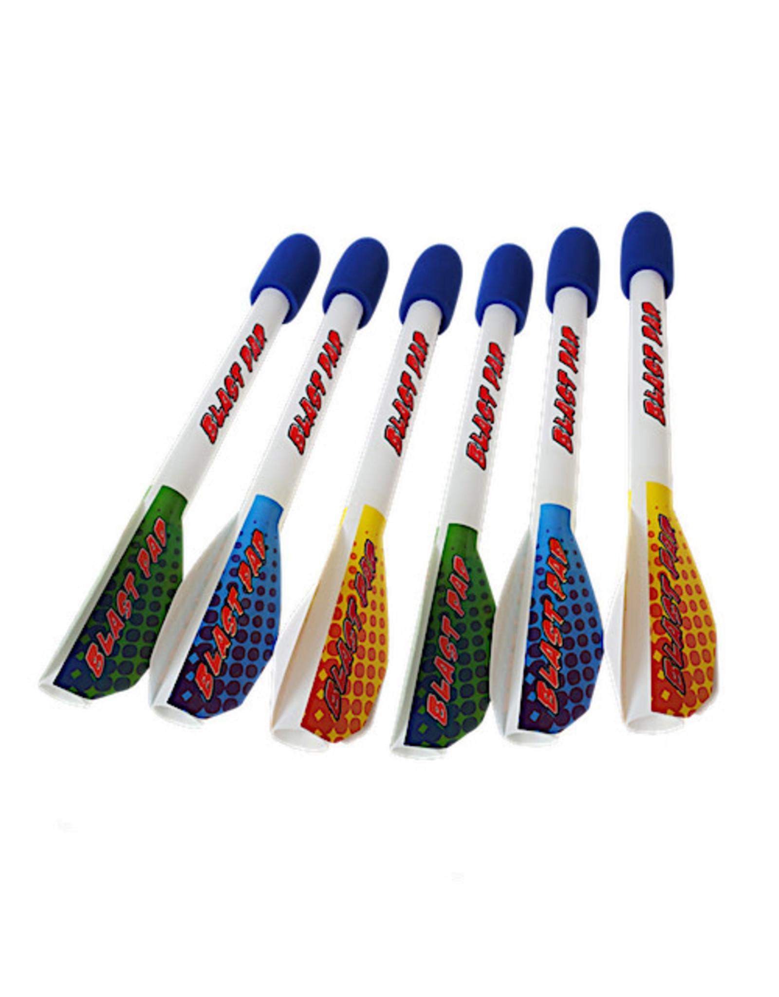 Blast Pad Rockets 6 Pack