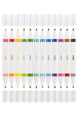 Ooly Dual Tone Double Ended Brush Marker