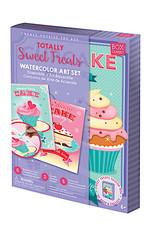 Handstand Kitchen Totally Sweet Treats Watercolor Art Set