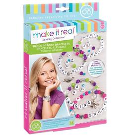 Make It Real Block and Rock Charm Bracelets