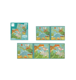 Dam Products Magnetic Puzzle Book Dino