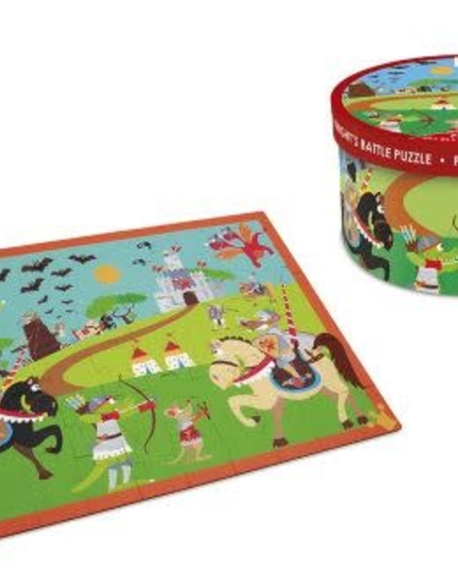 Dam Products Puzzle Knight Battle 60 pcs