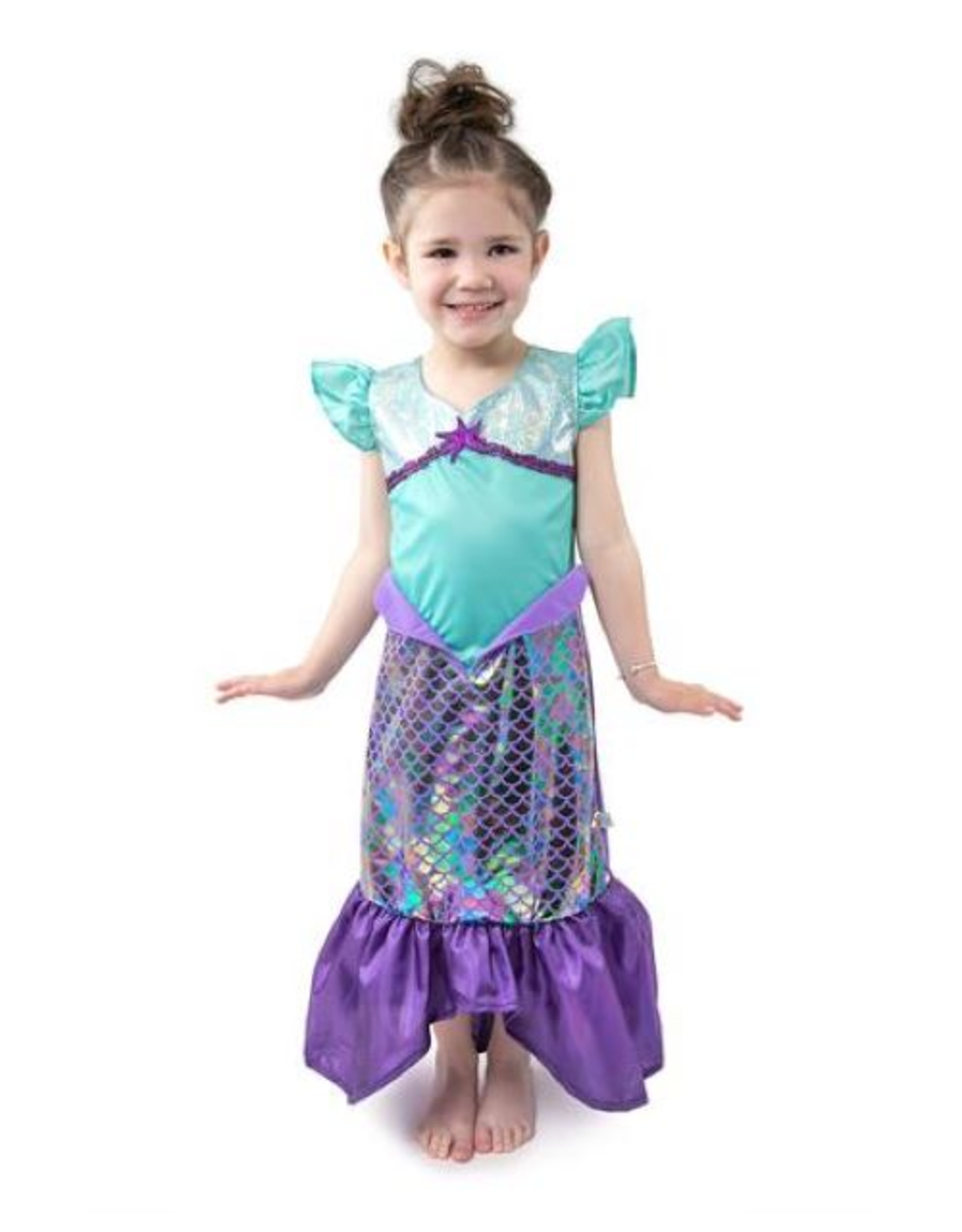 Little Adventures Purple Sparkle Mermaid