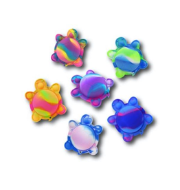 Confetti Corp Turtle Flipping Snap Keychain