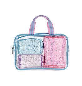 Iscream Cosmetic Bag Trio
