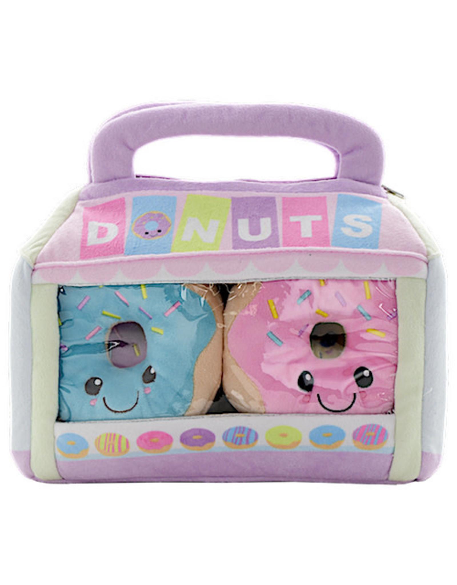 Iscream Box Of Donuts Fleece Pillow