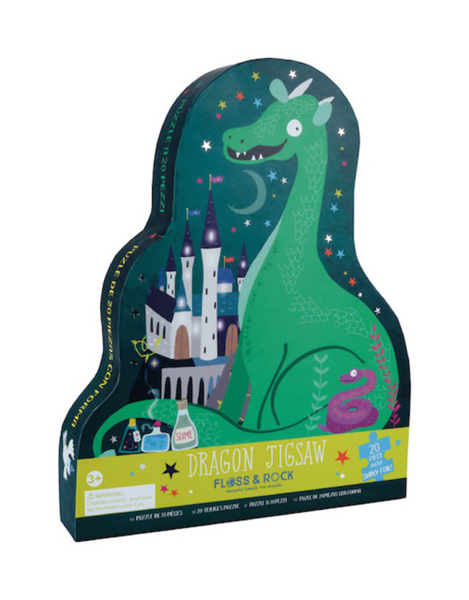 Floss & Rock Jigsaw Puzzle 20pc Spellbound