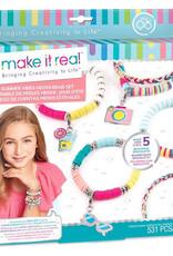 Make It Real Summer Vibes Heishi Bracelets