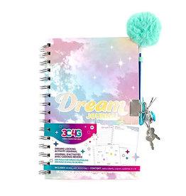 Make It Real Dreams Locking Activity Journal
