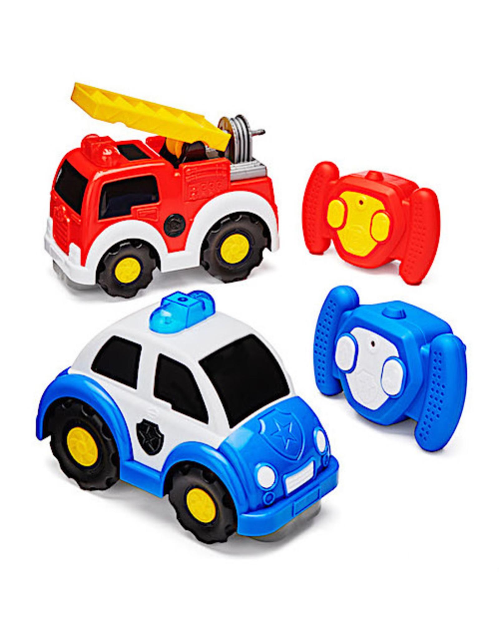Kid Galaxy Preschool Vehicle 2-Pk - Rescue
