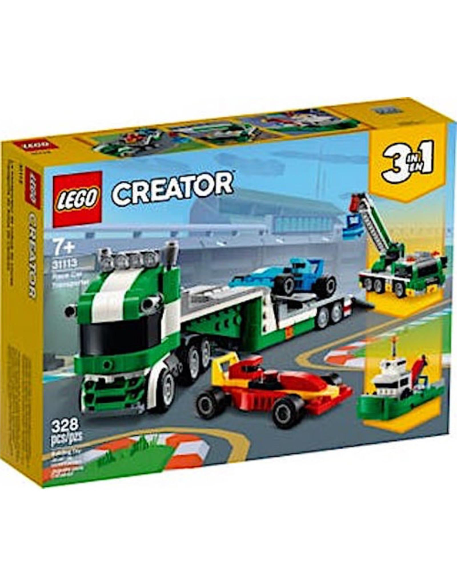 Lego Race Car Transporter