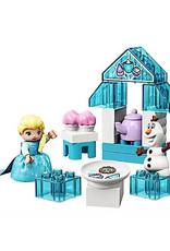 Lego Elsa and Olaf's Tea Party