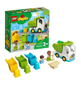 Lego Garbage Truck and Recycling