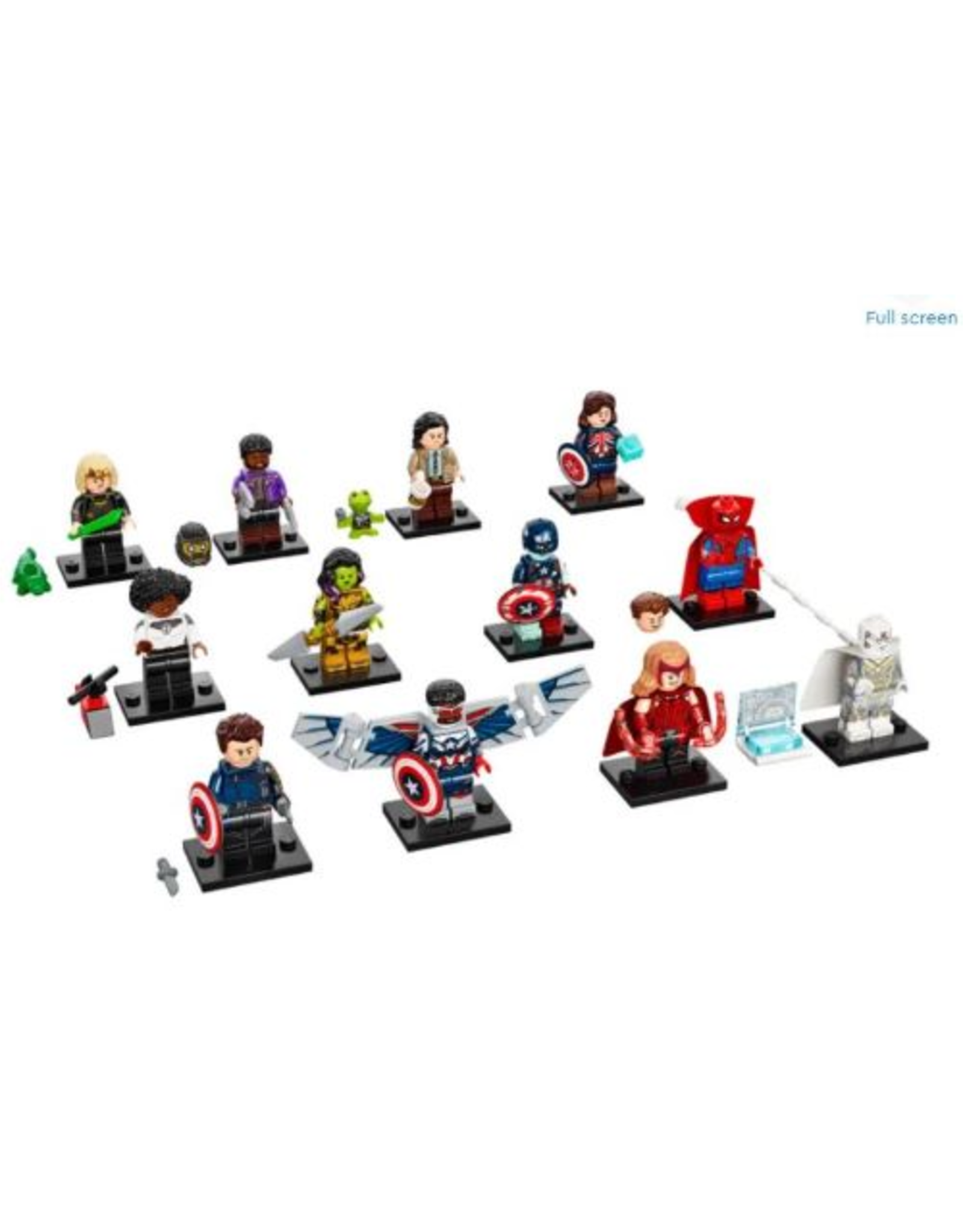 Lego Marvel Studios Minifigure