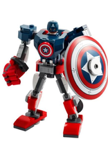 Lego Captain America and Hydra Face Off
