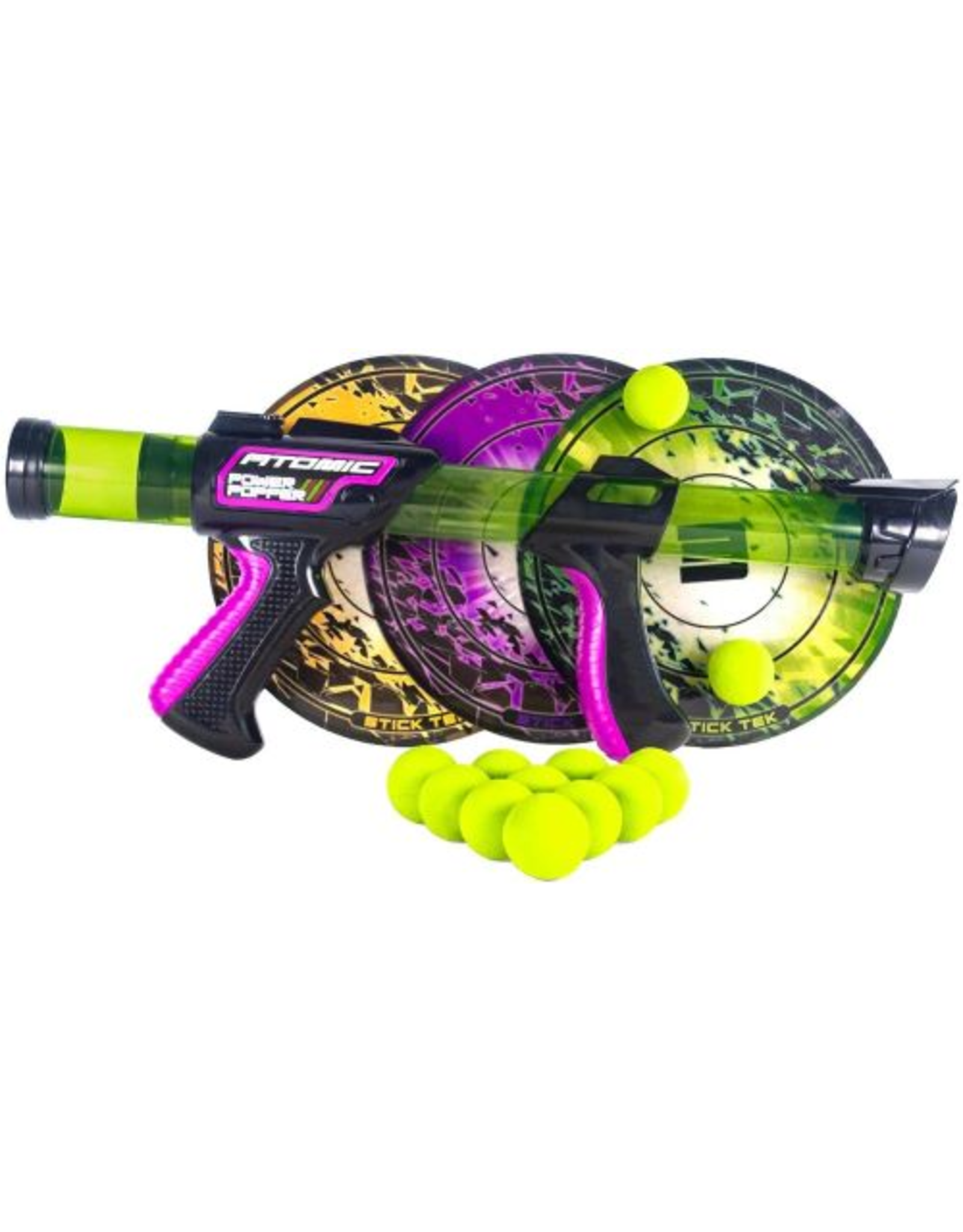 Hog Wild Atomic Power Popper Pack With Sticky Targets