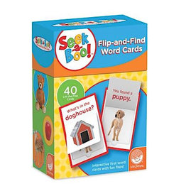 Seek A Boo!:  Flip-And-Find Word Cards