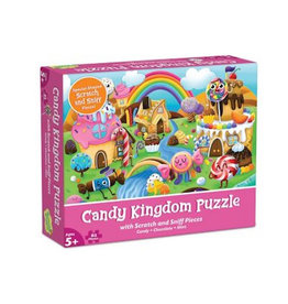 Mindware Scratch And Sniff Puzzle: Candy Kingdom