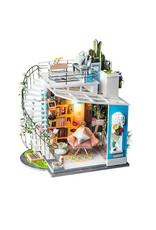 Hands Craft DIY Miniature House Kit: Dora's Loft