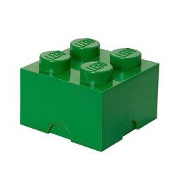 Lego LEGO STORAGE Brick 4  Dark Green
