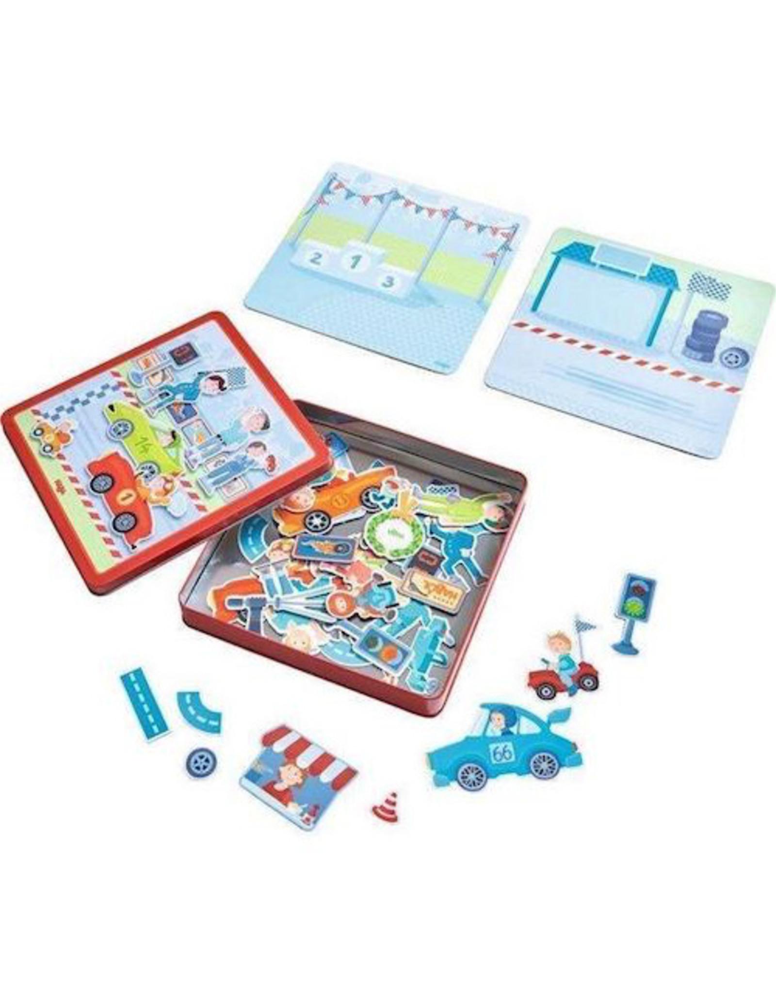 HABA Magnetic Game Tin Zippy Cars