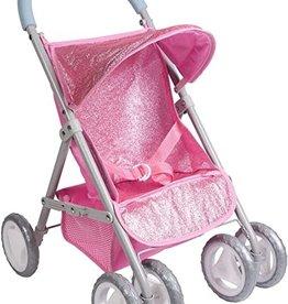 Adora Glam Glitter Stroller Pink
