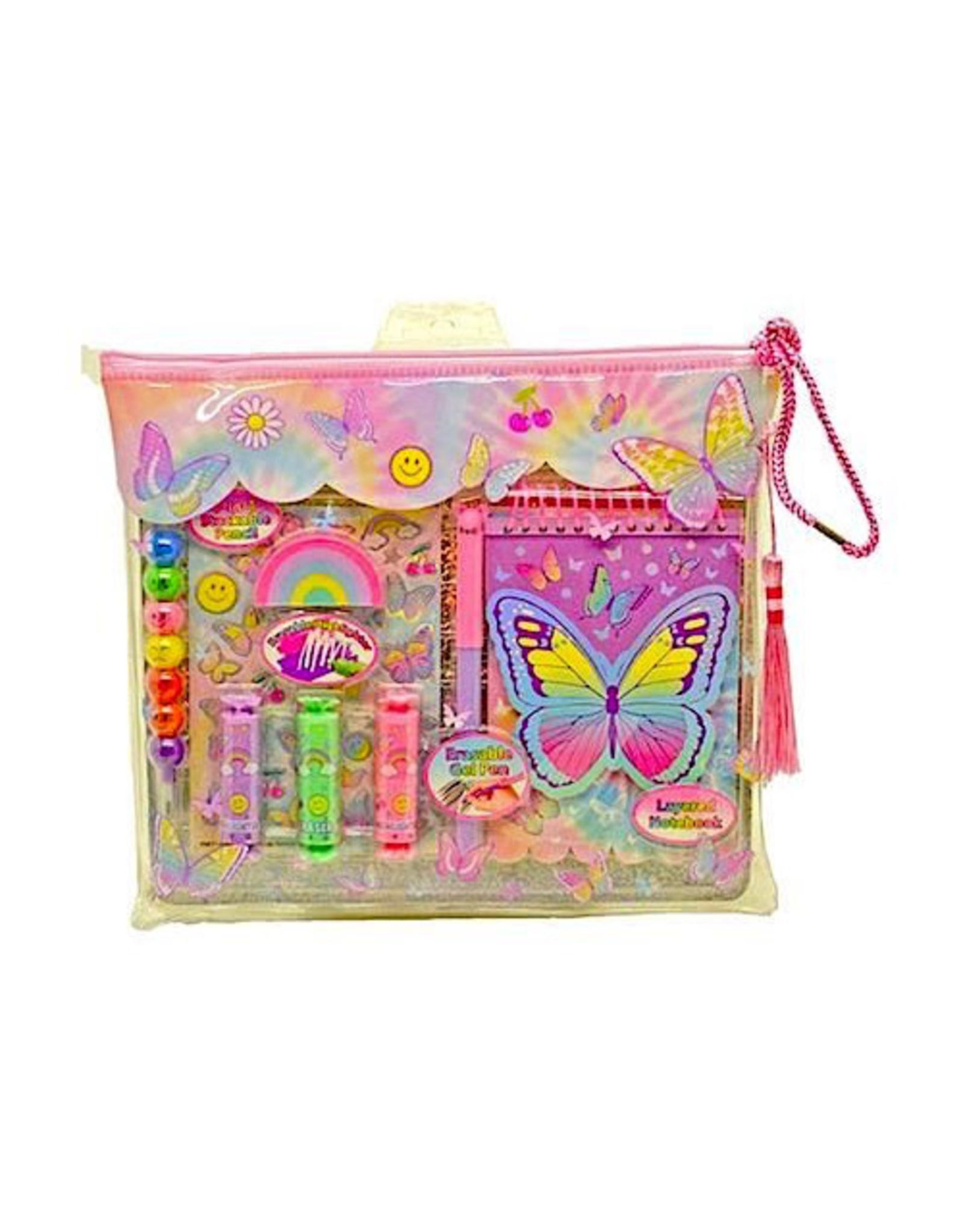 Hot Focus Erasable Color Magic, Tie Dye Butterfly