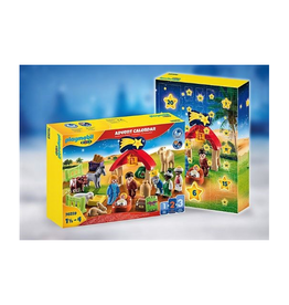 Playmobil 1.2.3 Advent Calendar - Christmas Manger