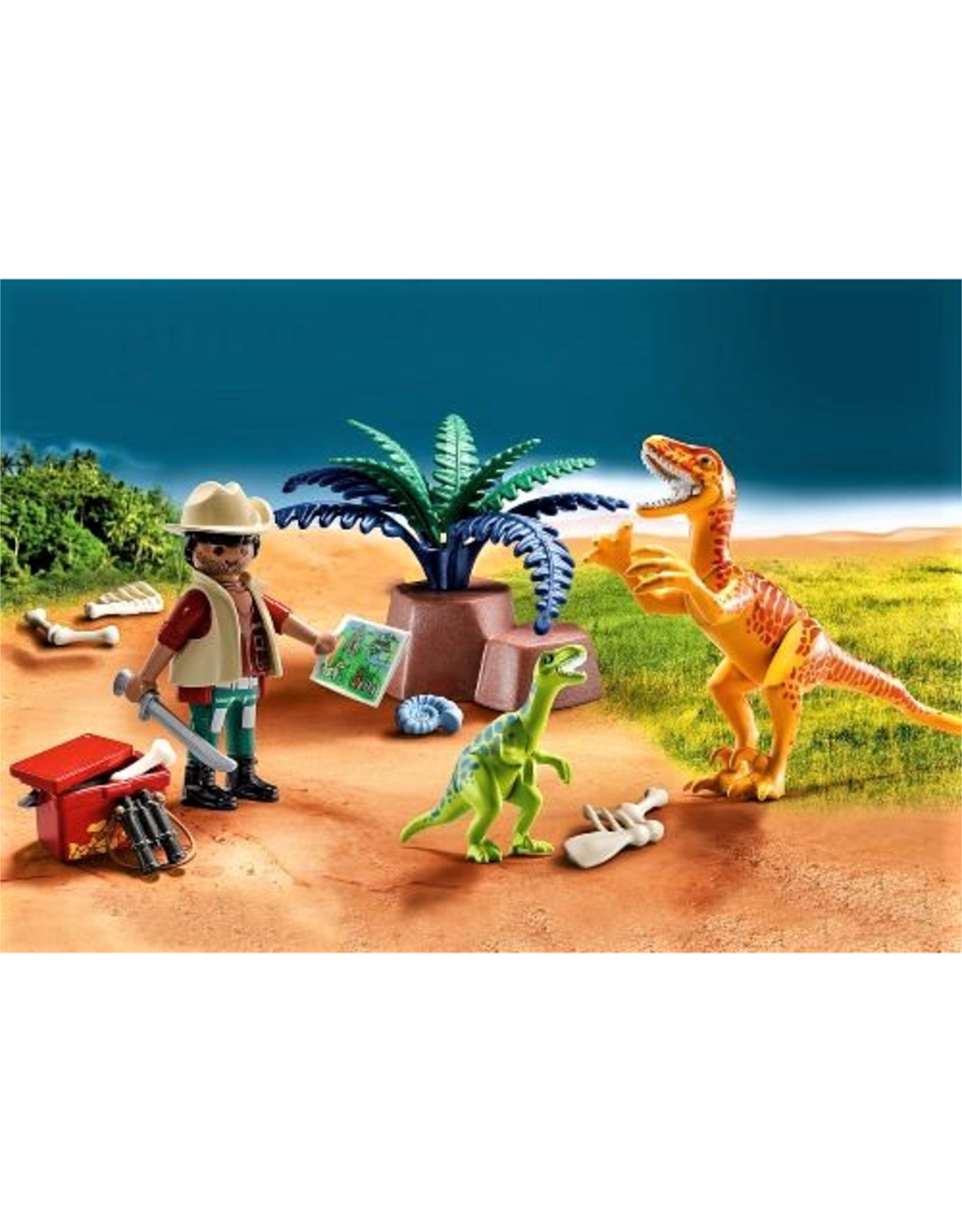 Playmobil Dino Explorer Carry Case