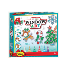 Faber Castell Holiday Easy Sparkle Window Art