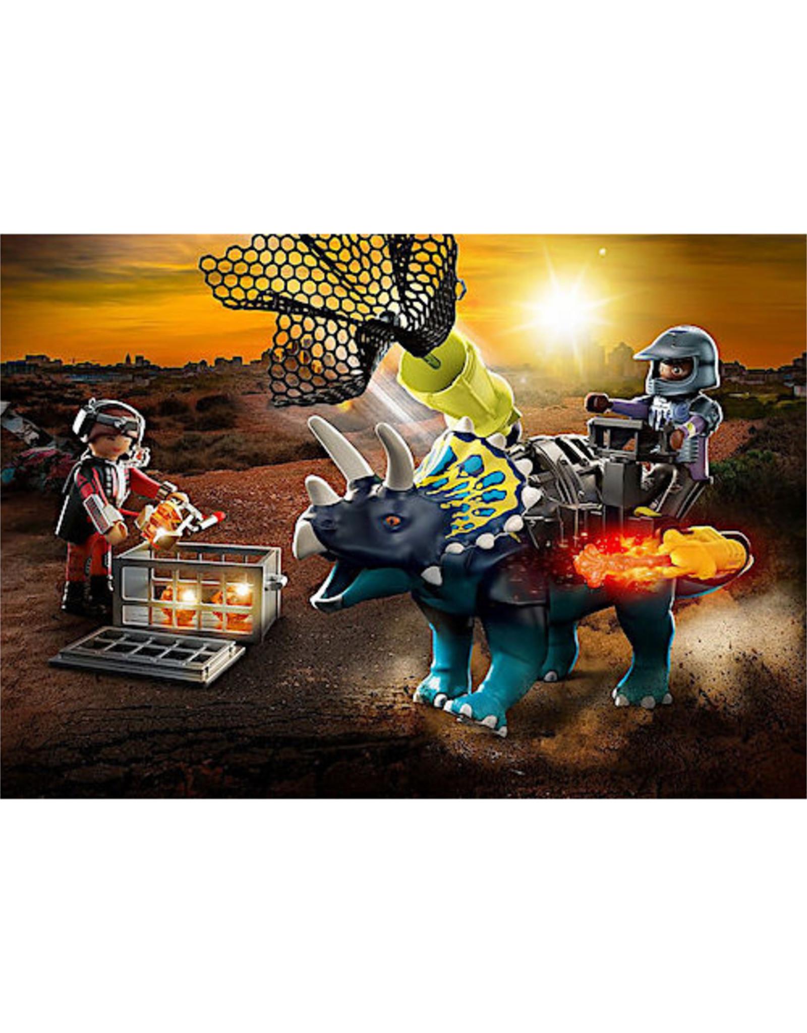 Playmobil Triceratops: Battle for the Legendary Stones