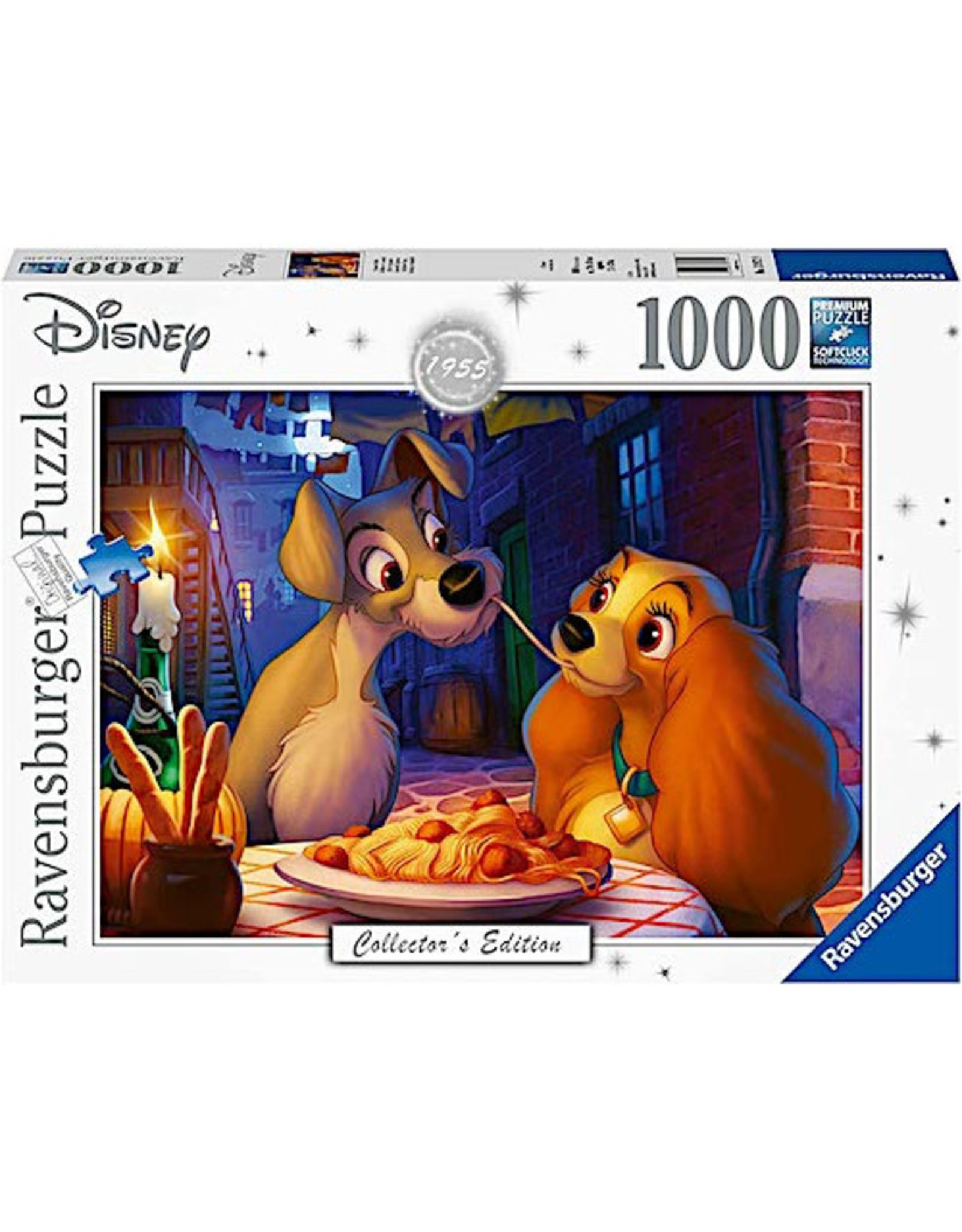 Ravensburger Lady and the Tramp (1000 pc)