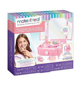 Make It Real Blush Vanity Makeup Set