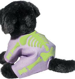 Douglas Toys Black Lab W/ Skeleton PJ's