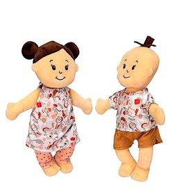 Manhattan Toy Wee Baby Stella Twins Peach