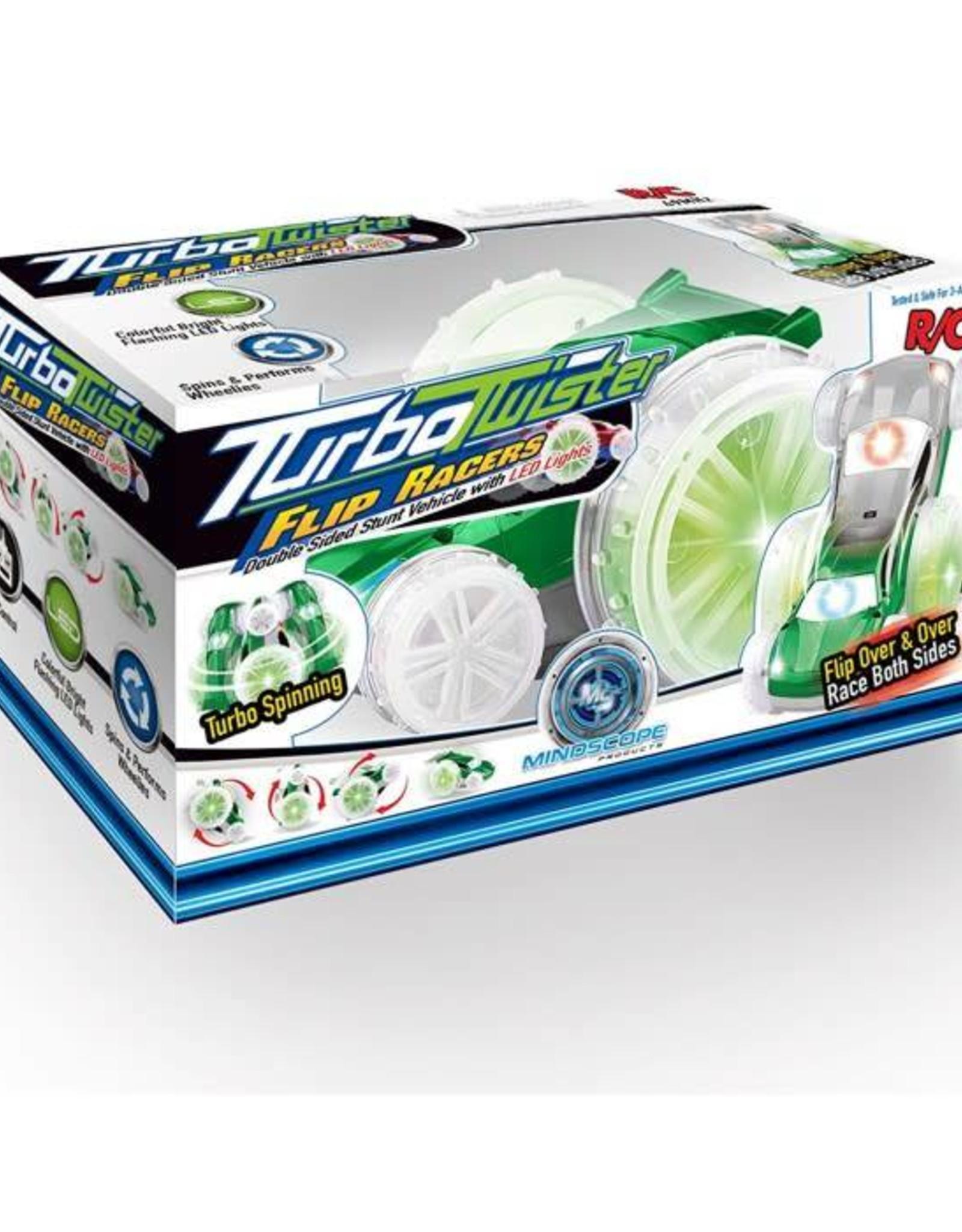 Mindscope Turbo Twister Flip Racer Silver/Green