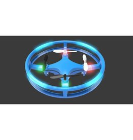 Mindscope Sky Lighter Disc Drone-Blue