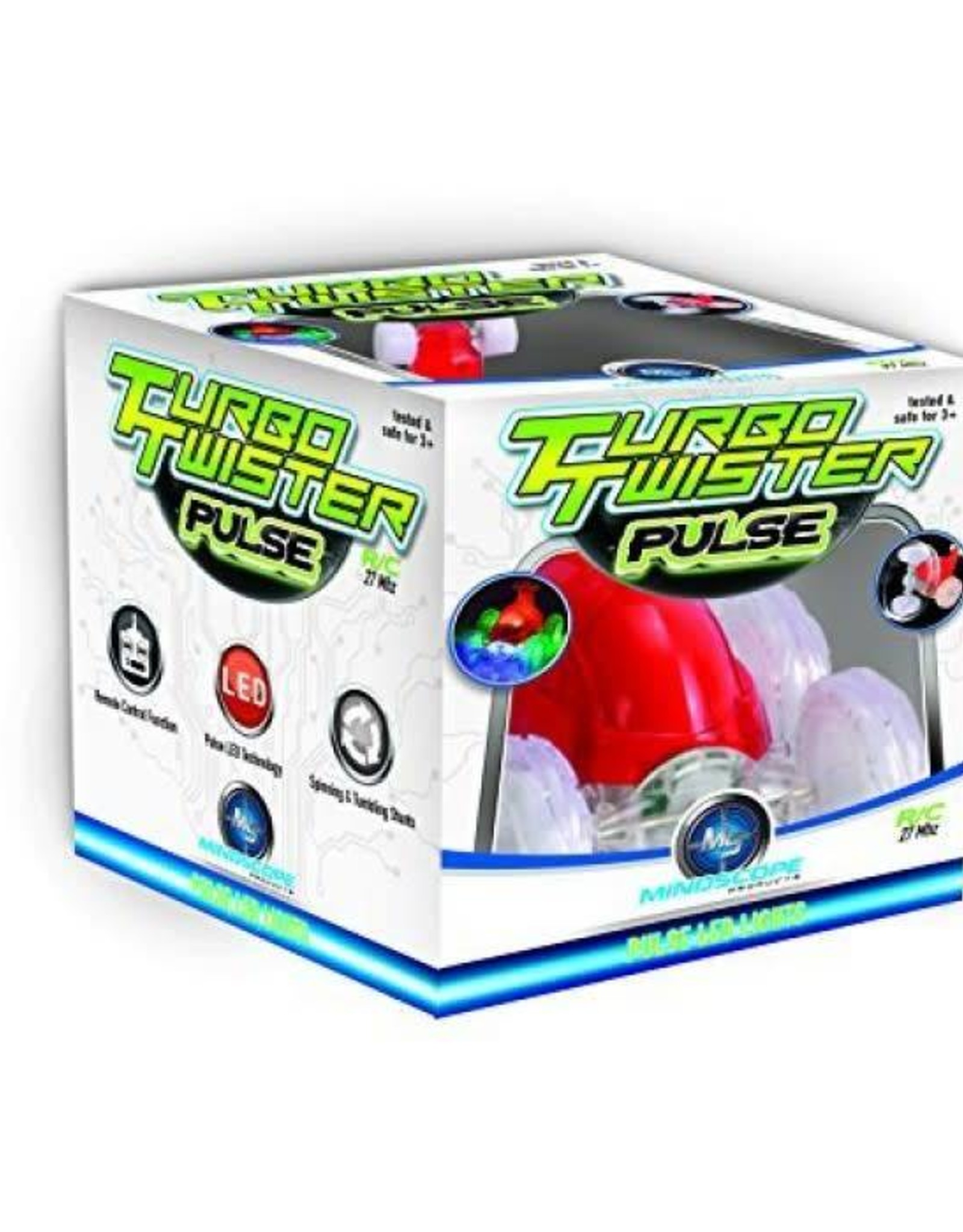 Mindscope Turbo Twisters PULSE Red (27 Mhz)