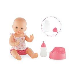 Corolle Emma Drink-And-Wet Bath Baby