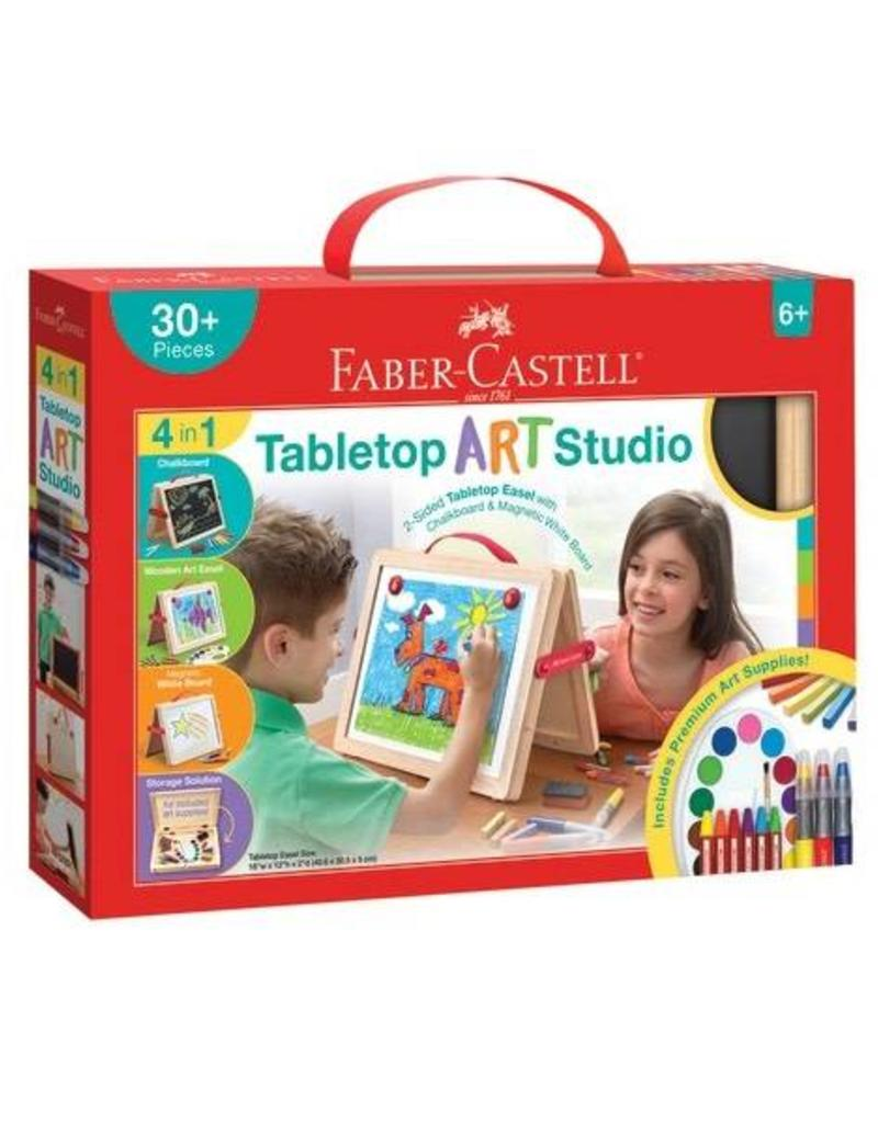 Faber Castell Young Artst Table Top Art Studo - Time 4 Toys