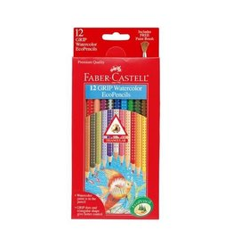 Faber Castell 12ct Grip Watercolor EcoPencils