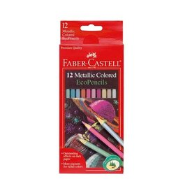Faber Castell 12ct Metallic Colored EcoPencils