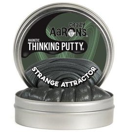 "Crazy Aaron's Putty Strange Attractor Super Magnetic 4"" Tin plus magnet"
