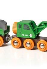 Brio Clever Crane Wagon