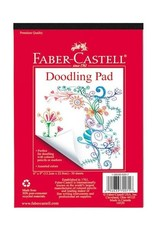 """Faber Castell Doodling Pad 6"""" x 9"""